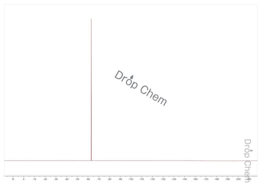 1,2-ジブロモ-1,1,2,2-テトラフルオロエタンの19FNMRスペクトル