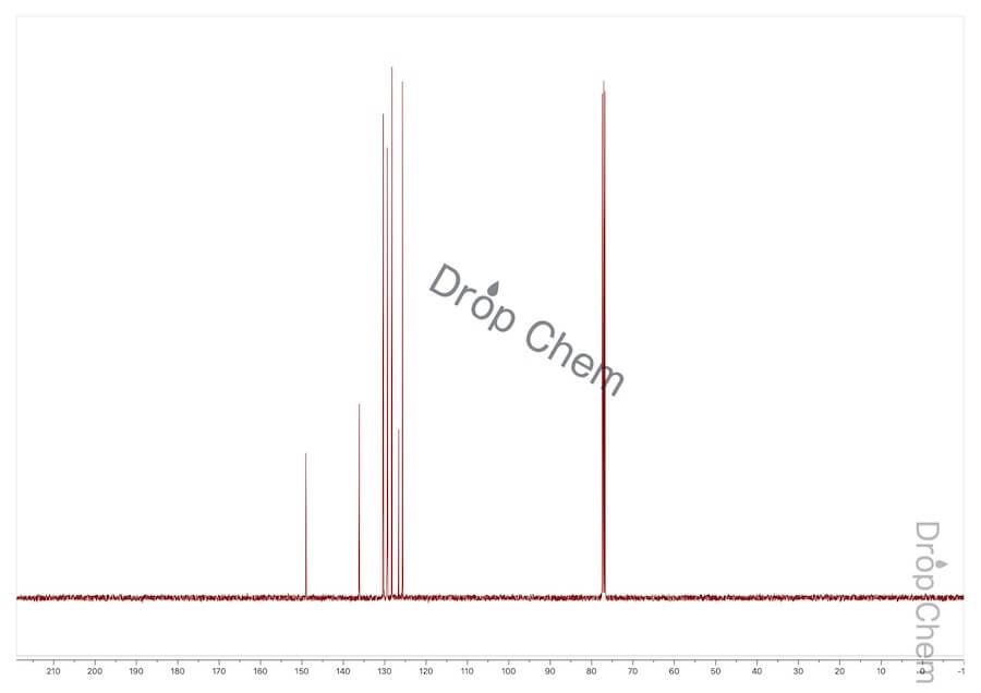 アクリジンの13CNMRスペクトル