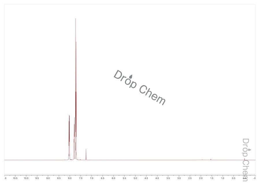 2-(トリフルオロメチル)ベンゾイルクロリドの1HNMRスペクトル
