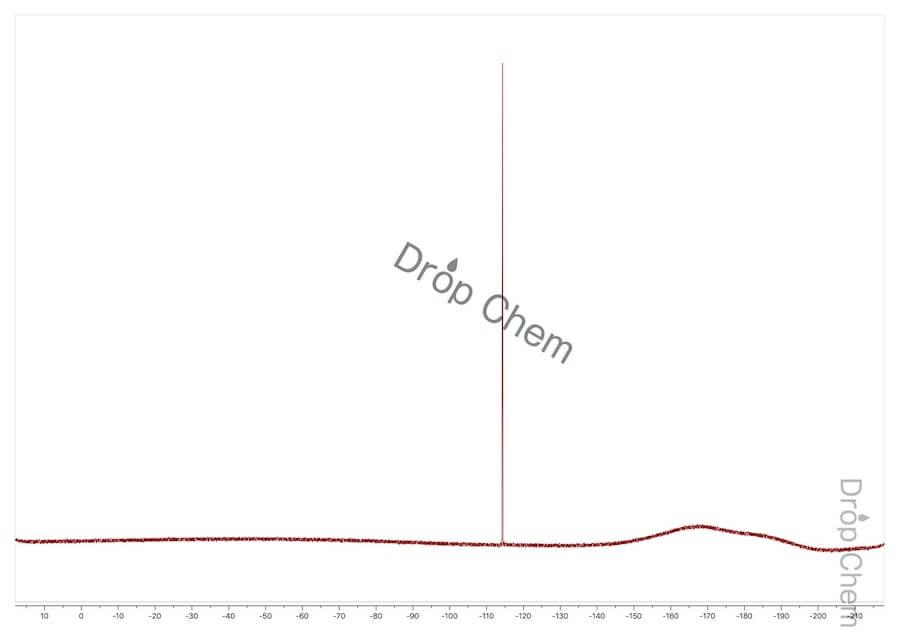 4-ブロモ-2-フルオロ-1-ニトロベンゼンの13CNMRスペクトル