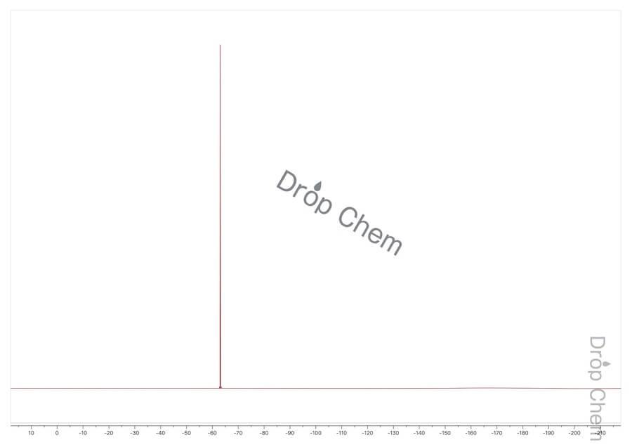 1-ブロモ-3,5-ビス(トリフルオロメチル)ベンゼンの19FNMRスペクトル