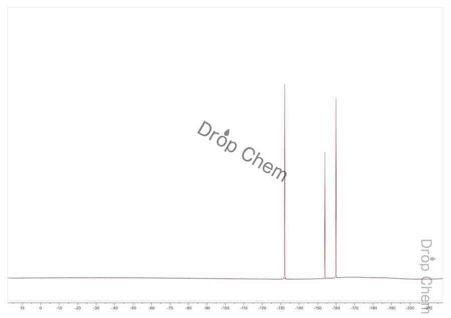 ブロモペンタフルオロベンゼンの19FNMRスペクトル