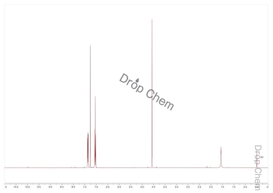 4-フルオロベンジルクロリドの1HNMRスペクトル