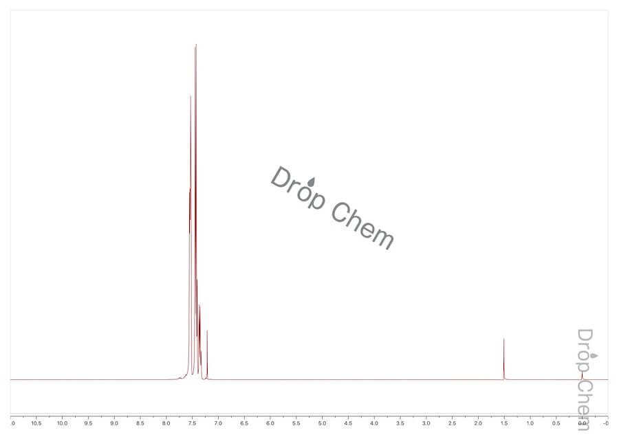 4-ブロモビフェニルの1HNMRスペクトル