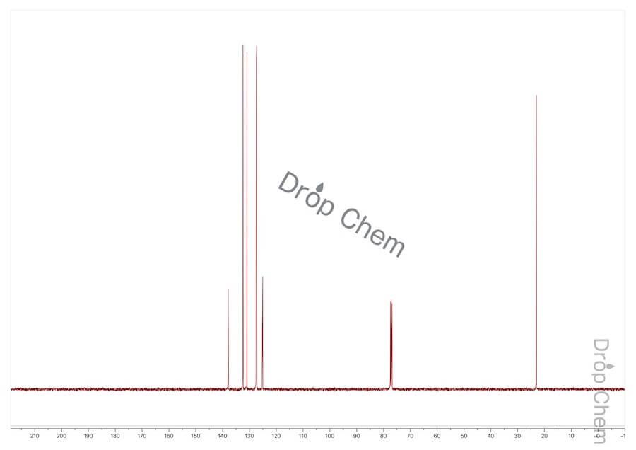 2-ブロモトルエンの13CNMRスペクトル