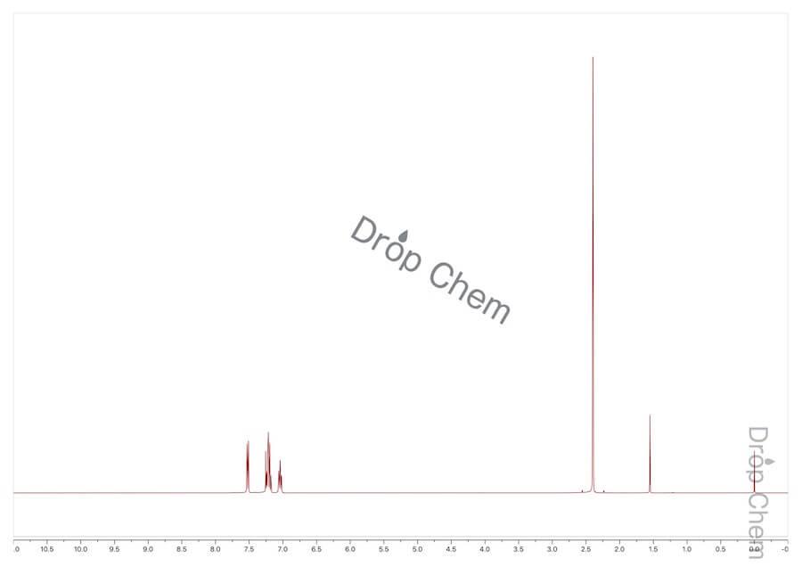 2-ブロモトルエンの1HNMRスペクトル