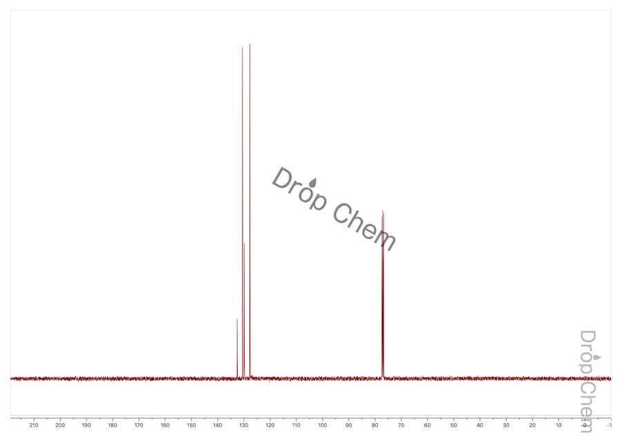 1,2-ジクロロベンゼンの13CNMRスペクトル