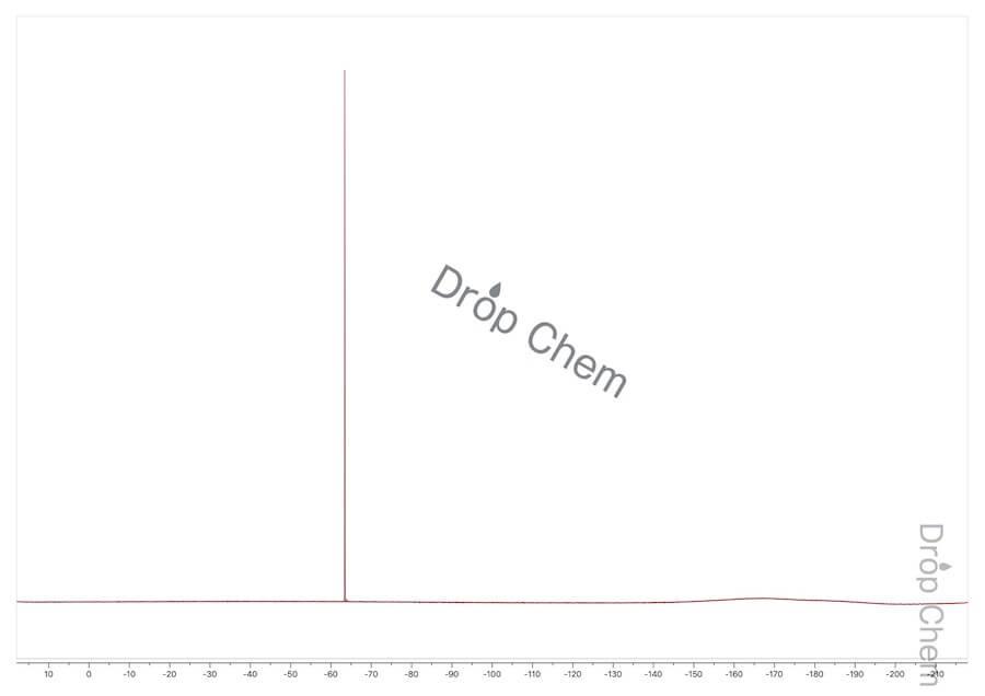 4-(トリフルオロメチル)ベンゾイルクロリドの19FNMRスペクトル