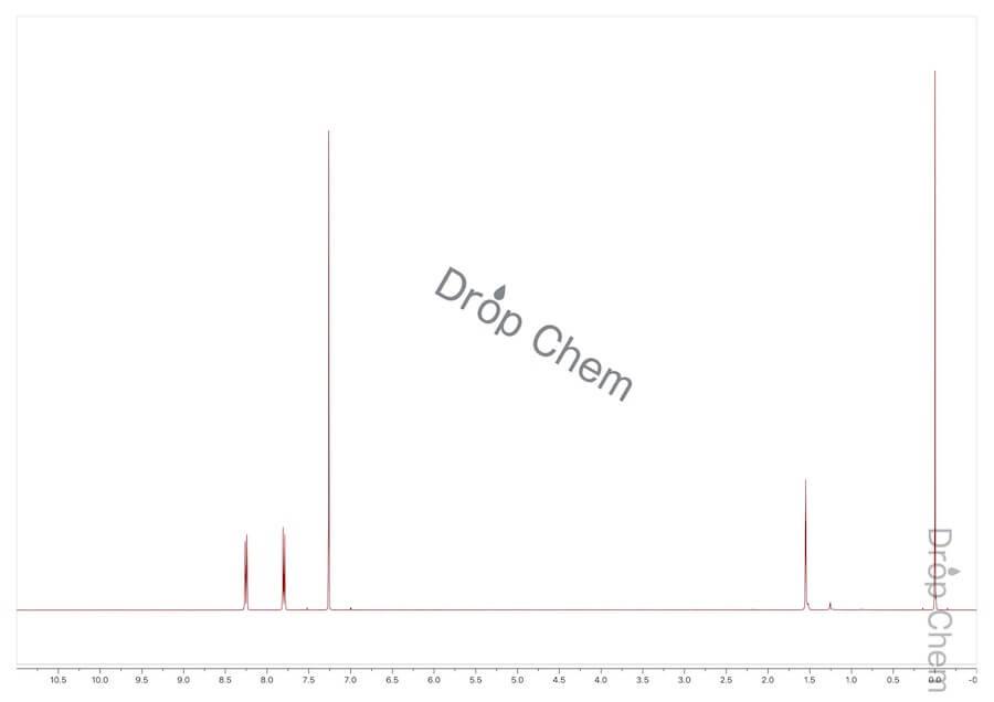 4-(トリフルオロメチル)ベンゾイルクロリドの1HNMRスペクトル