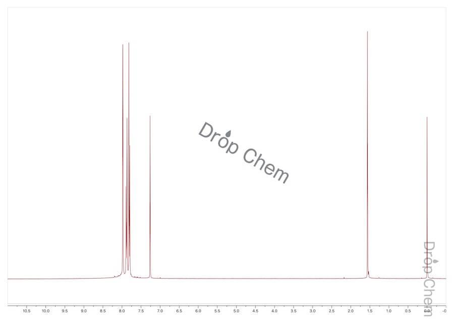 5-ブロモ-2-ニトロベンゾトリフルオリドの1HNMRスペクトル