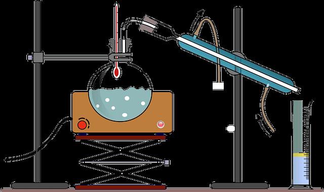 蒸留装置図