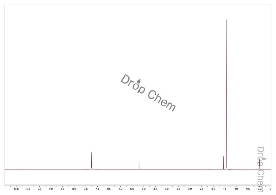 4-ブロモ-2,6-ジ-tert-ブチルフェノールの1HNMRスペクトル