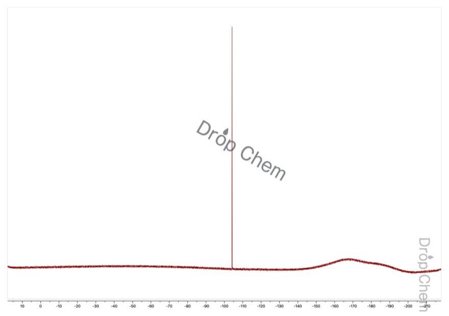 1,4-ジブロモ-2-フルオロベンゼンの19FNMRスペクトル