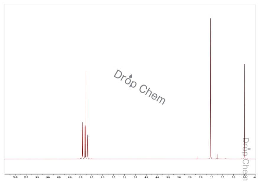 1,4-ジブロモ-2-フルオロベンゼンの1HNMRスペクトル