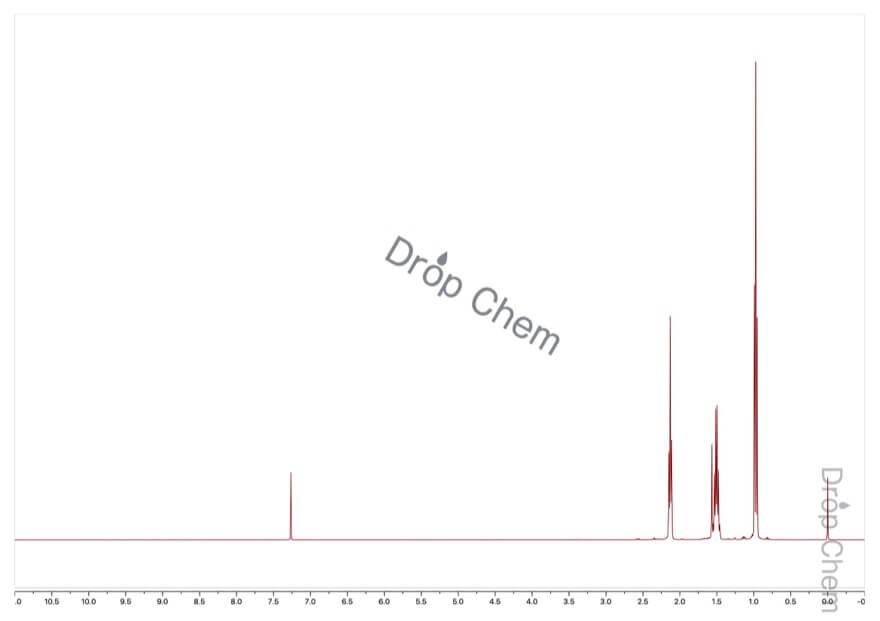 4-オクチンの1HNMRスペクトル