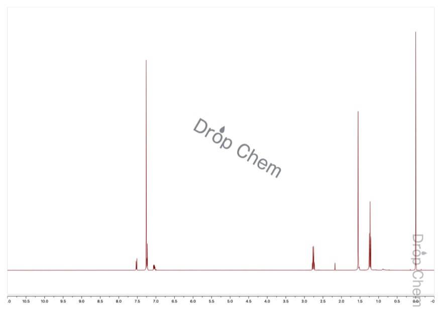 1-ブロモ-2-エチルベンゼンの1HNMRスペクトル