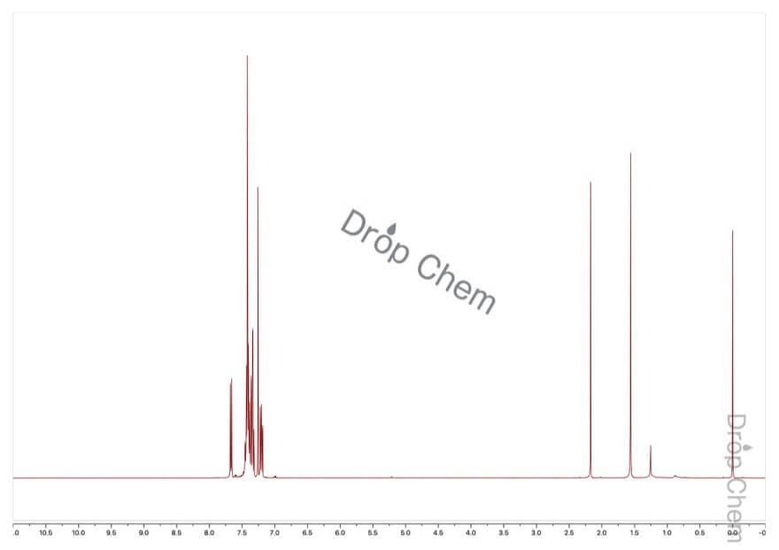 2-ブロモビフェニルの1HNMRスペクトル