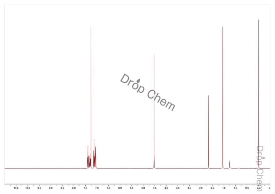 2-フルオロベンジルブロミドの1HNMRスペクトル
