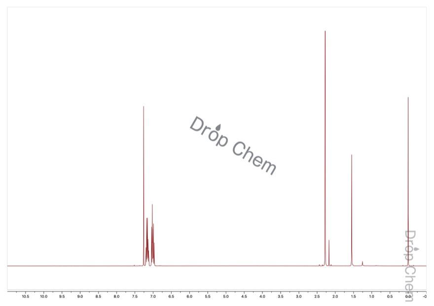 2-ブロモ-5-フルオロトルエンの1HNMRスペクトル