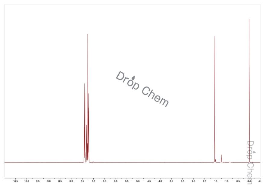 (トリフルオロメトキシ)ベンゼンの1HNMRスペクトル