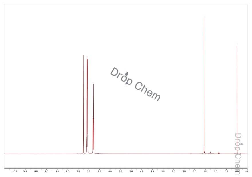 1-ブロモ-3,5-ジフルオロベンゼンの1HNMRスペクトル