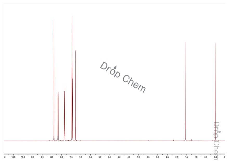 1-ブロモ-3-ニトロベンゼンの1HNMRスペクトル