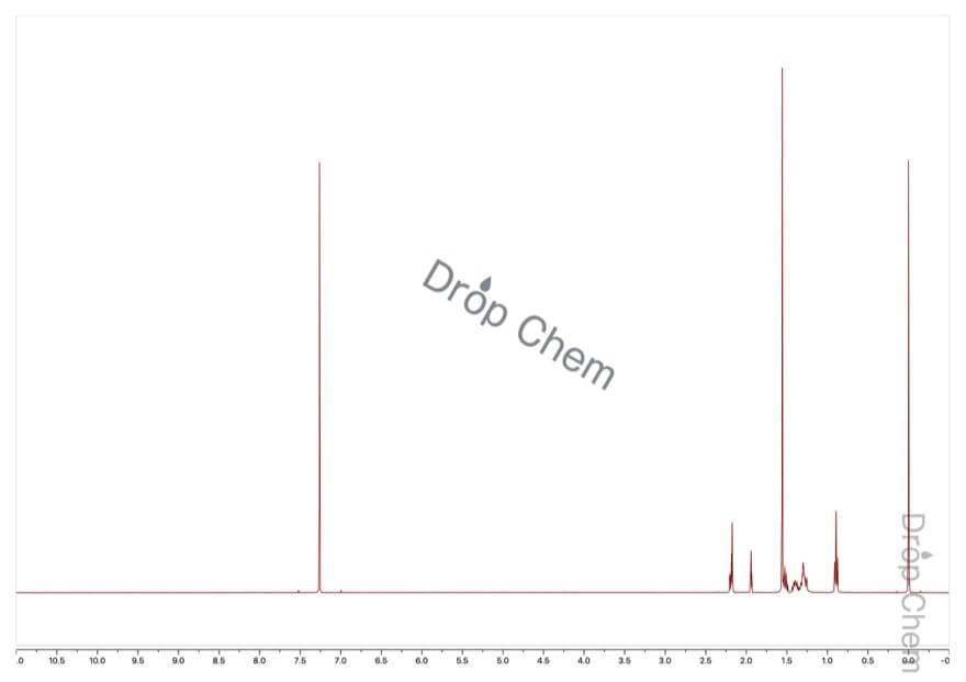 1-オクチンの1HNMRスペクトル