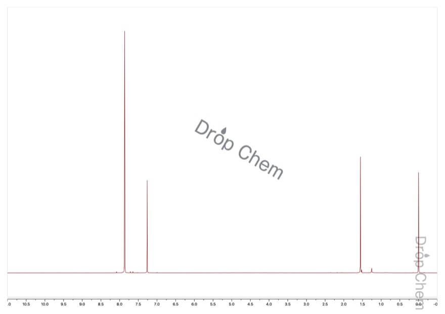1,2,4,5-テトラブロモベンゼンの1HNMRスペクトル