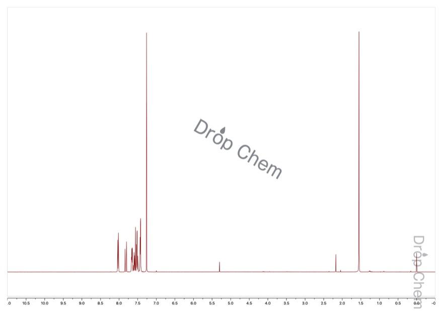 カルコンの1HNMRスペクトル