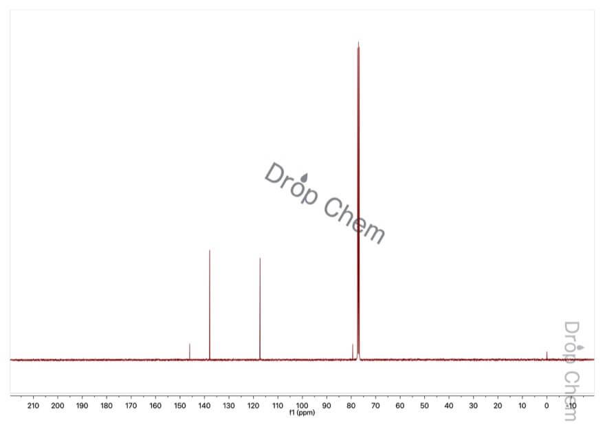 4-ヨードアニリンの13CNMRスペクトル