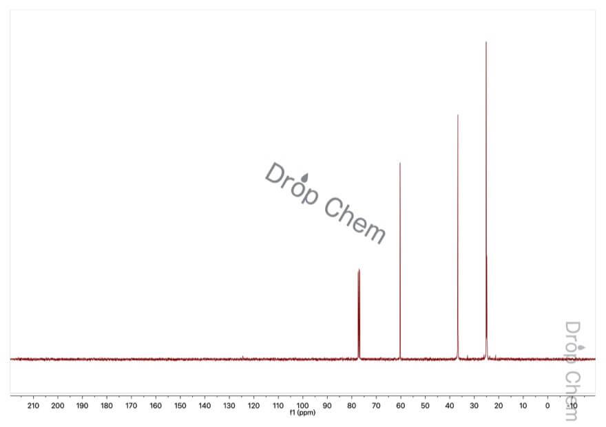 クロロシクロヘキサンの13CNMRスペクトル