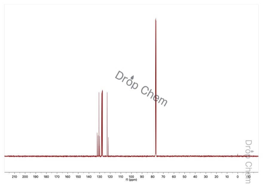 9-ブロモフェナントレンの13CNMRスペクトル