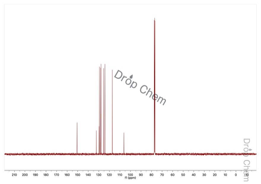 1-ブロモ-2-ナフトールの13CNMRスペクトル