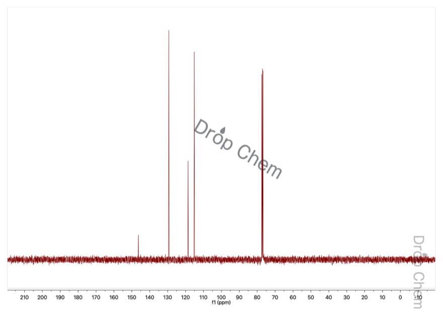 アニリンの13CNMRスペクトル