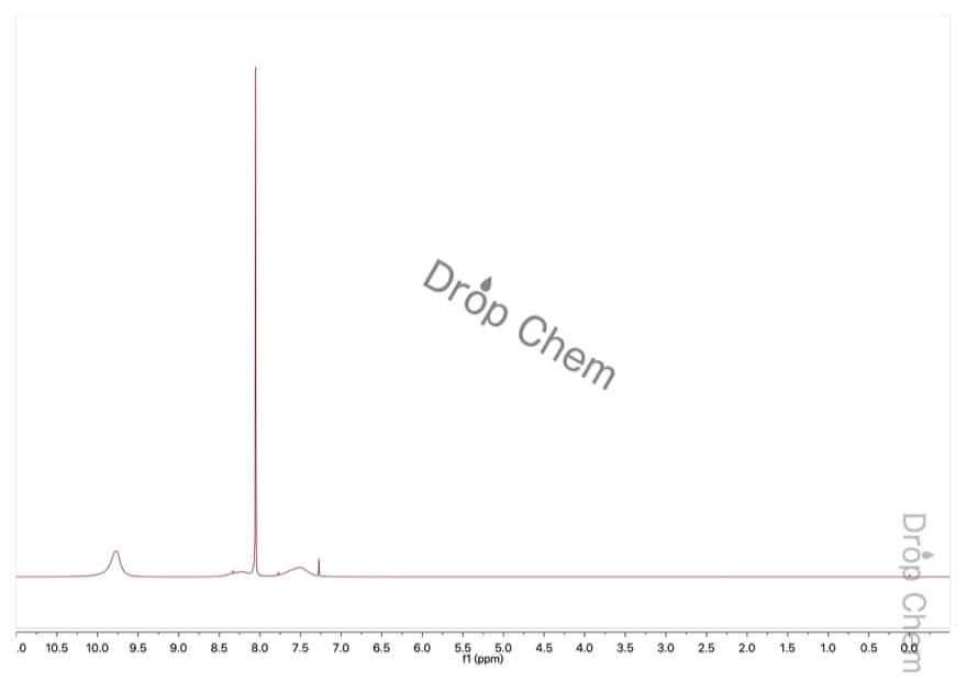 ギ酸の1HNMRスペクトル