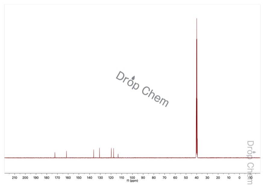 サリチル酸の13CNMRスペクトル
