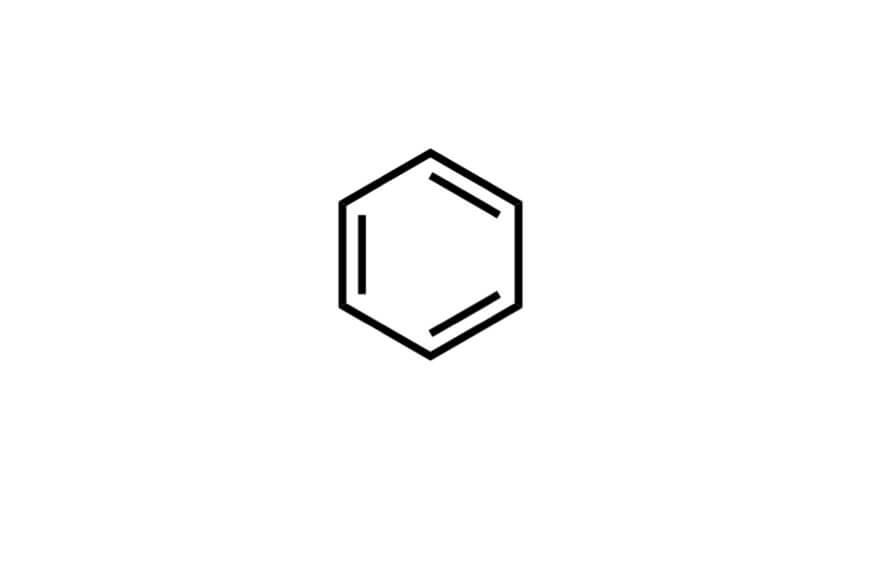 ベンゼンの構造式