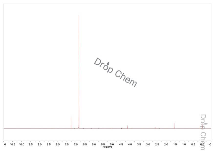 ブロモホルムの1HNMRスペクトル