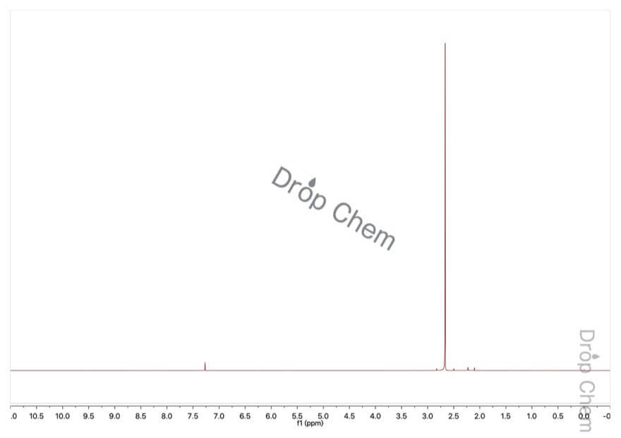 アセチルクロリドの1HNMRスペクトル