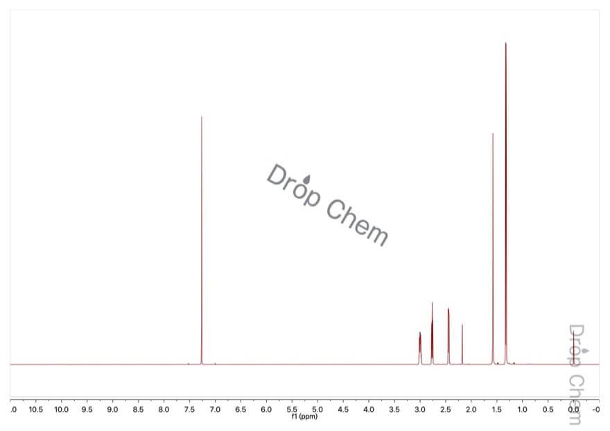 プロピレンオキシドの1HNMRスペクトル