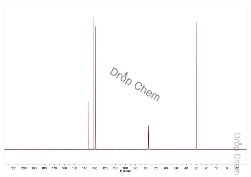 a,a'-ジブロモ-o-キシレンの13CNMRスペクトル