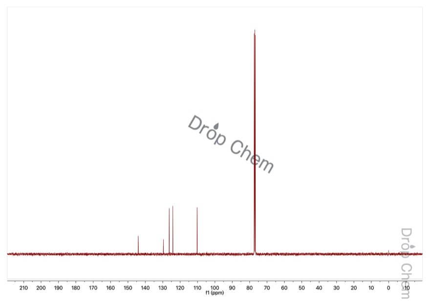 2,3-ジヒドロキシナフタレンの13CNMRスペクトル