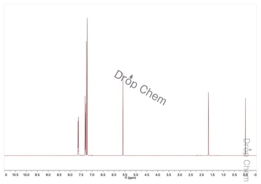 2,3-ジヒドロキシナフタレンの1HNMRスペクトル