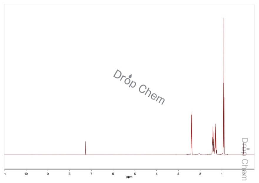 トリブチルアミンの1HNMRスペクトル