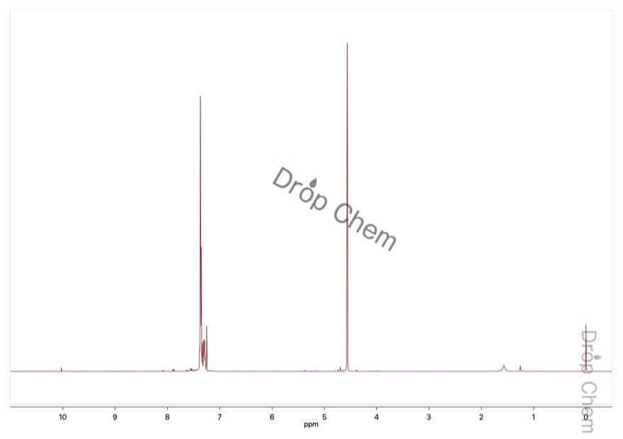 ジベンジルエーテルの1HNMRスペクトル