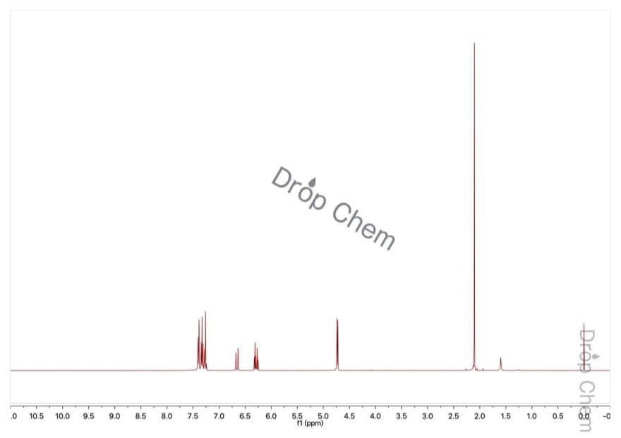 酢酸シンナミルの1HNMRスペクトル