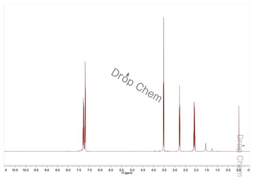 3-フェニルプロピルクロリドの1HNMRスペクトル