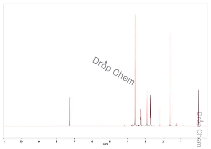 エピクロロヒドリンの1HNMRスペクトル