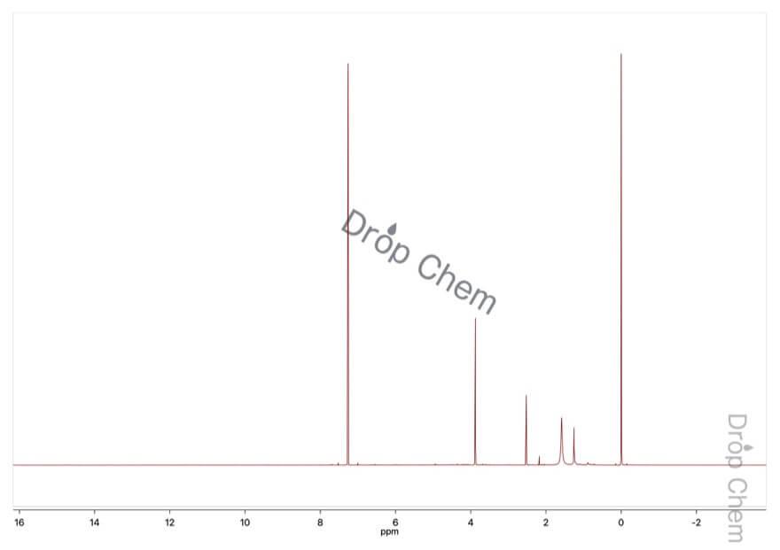 プロパルギルブロミドの1HNMRスペクトル