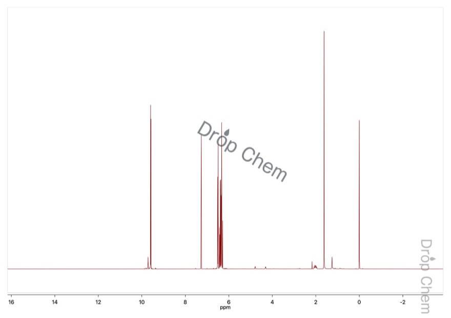 アクロレインの1HNMRスペクトル